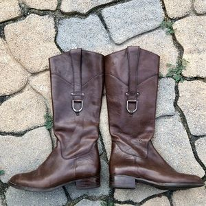 Ariat leather riding boots